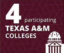 4 participating Texas A&M Colleges